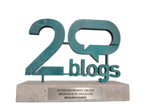 Biocuriosidades XIV Premios 20Blogs