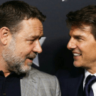 Tom Cruise dan Russel Crowe