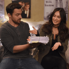Jake Johnson dan Megan Fox