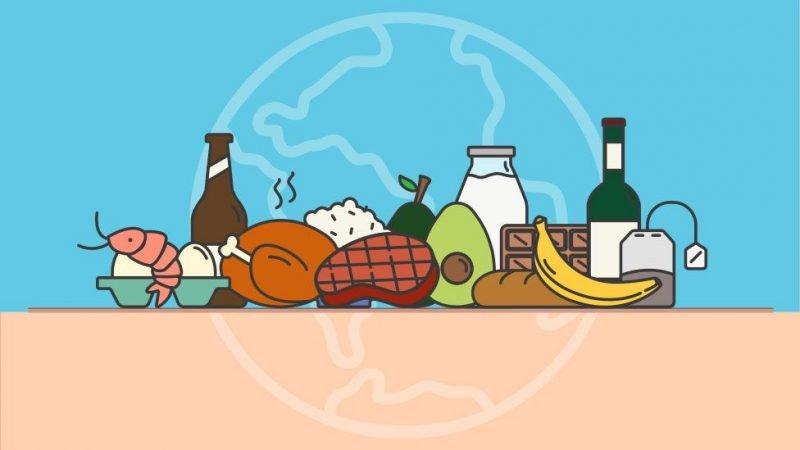 ¿Cuál es la huella de carbono de tu dieta?