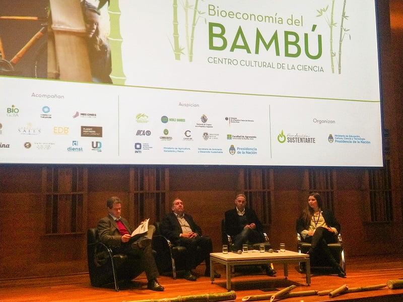 El bambú mostró su potencial en Buenos Aires