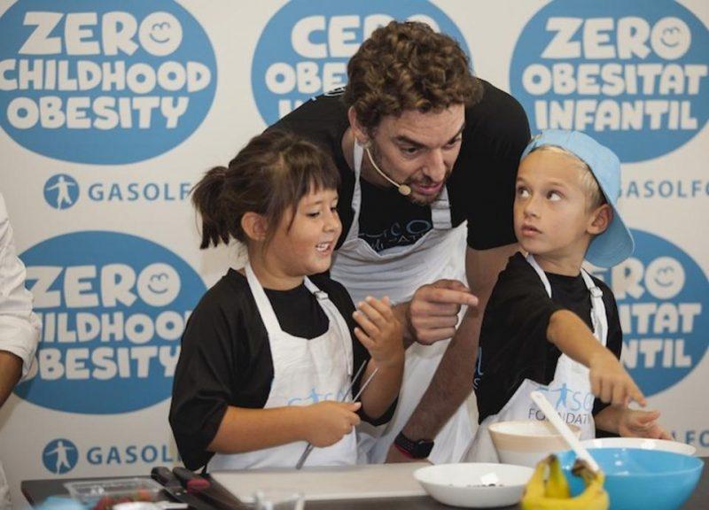 Pau Gasol consigue su mejor doble  jugadando para UNICEF
