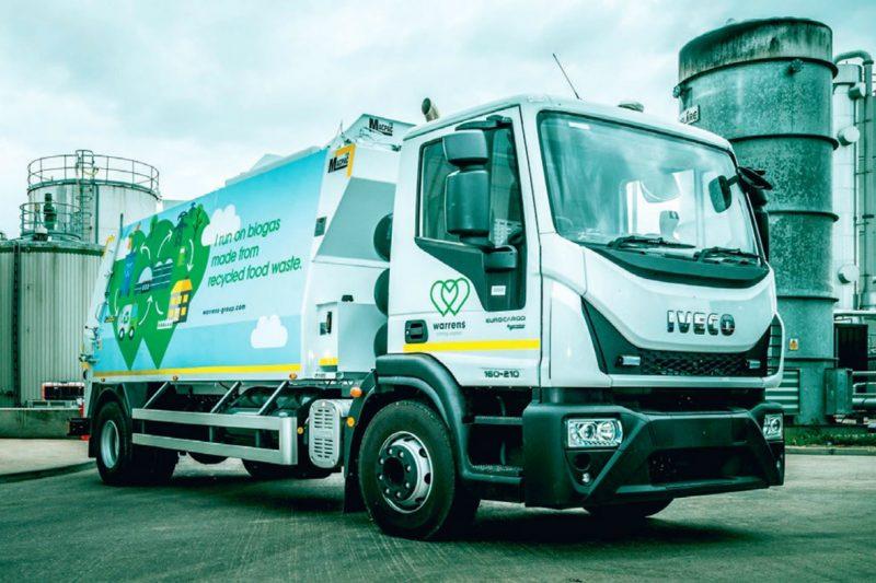 Circularidad al palo en el Reino Unido: empresa recolectan biomasa con biometano