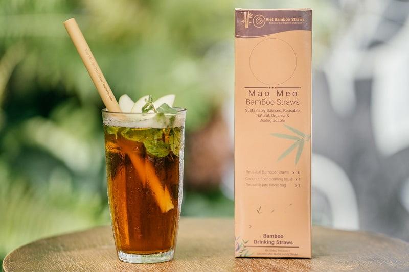 Sorbetes de bambú vietnamitas adornan las bebidas del mundo