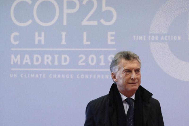 COP25: Macri resaltó el rol del campo argentino en la lucha contra el cambio climático