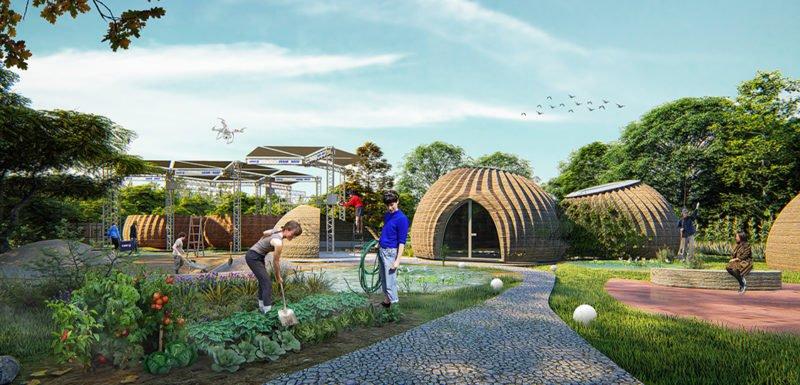 TECLA: la vivienda ecológica impresa en 3D