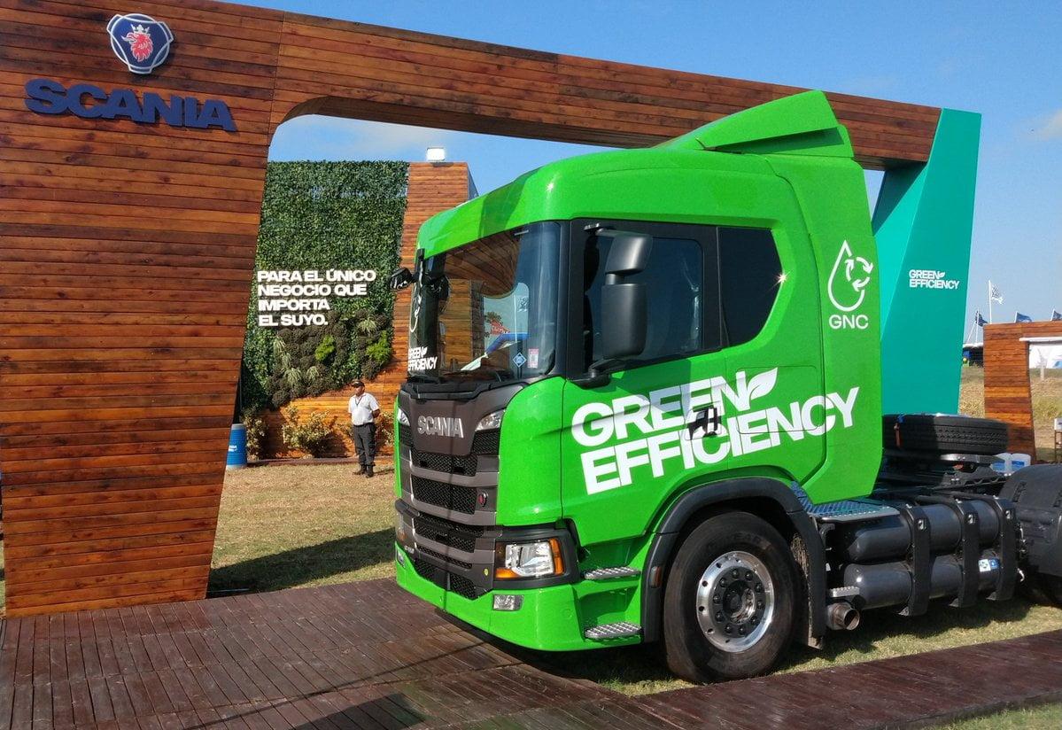 El primer camión Scania Green Efficiency, apto para utilizar biometano, ya circula por las rutas argentinas