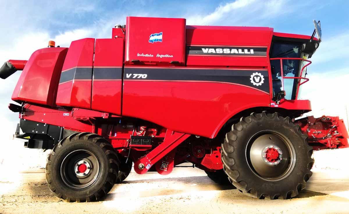 Vasalli equipa sus cosechadoras axiales con motores homolagados para biodiesel