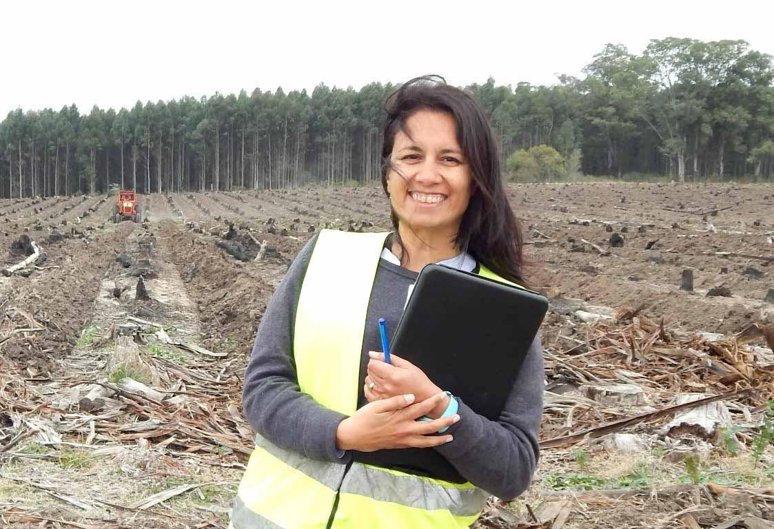 Ingenieras Forestales: pasión, capacidad, audacia y compromiso con la sustentabilidad