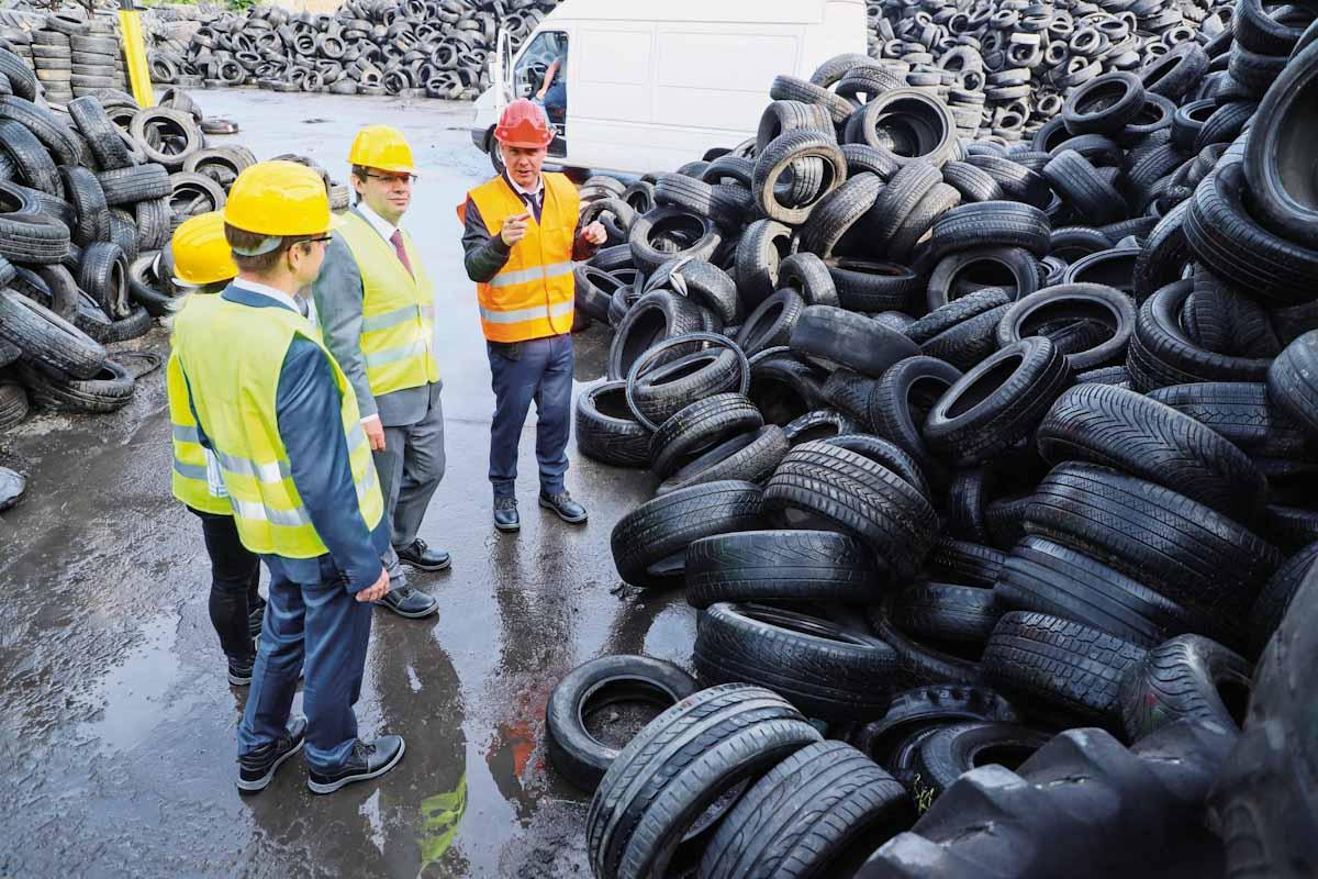 Basf profundiza sus ambiciones de economía circular con neumáticos reciclados