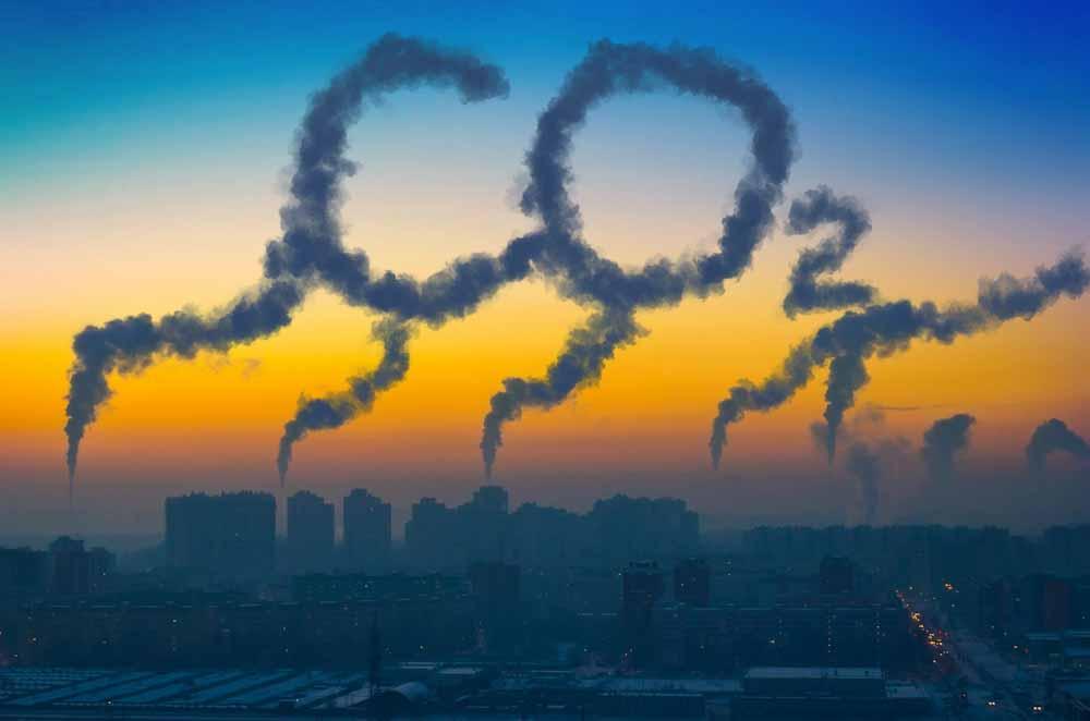 El ritmo de aumento de dióxido de carbono antropogénico de la Tierra no tiene precedentes