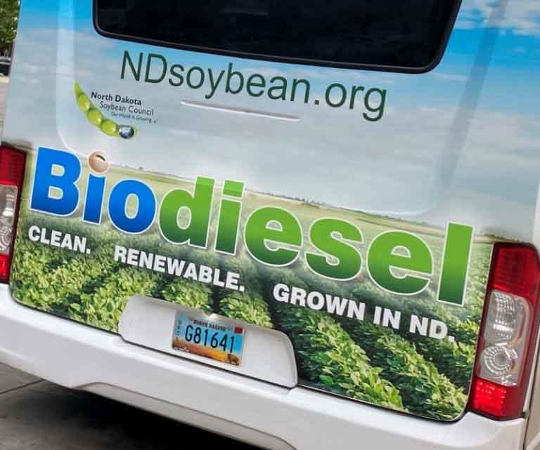 'Better, Cleaner, Now', el mensaje que recorrerá las calles y carreteras de EEUU para impulsar el uso de biodiesel