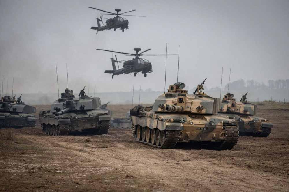 El ejército del Reino Unido combatirá el cambio climático con las algas