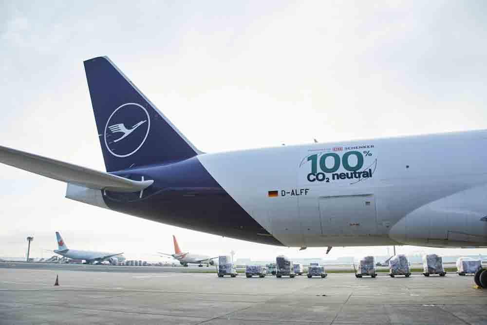 Despegó el primer vuelo de carga totalmente neutro en carbono