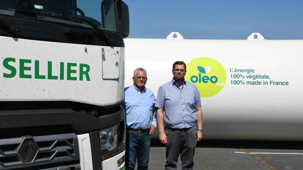 Francia: 100 empresas de transporte se benefician del uso de biodiesel puro