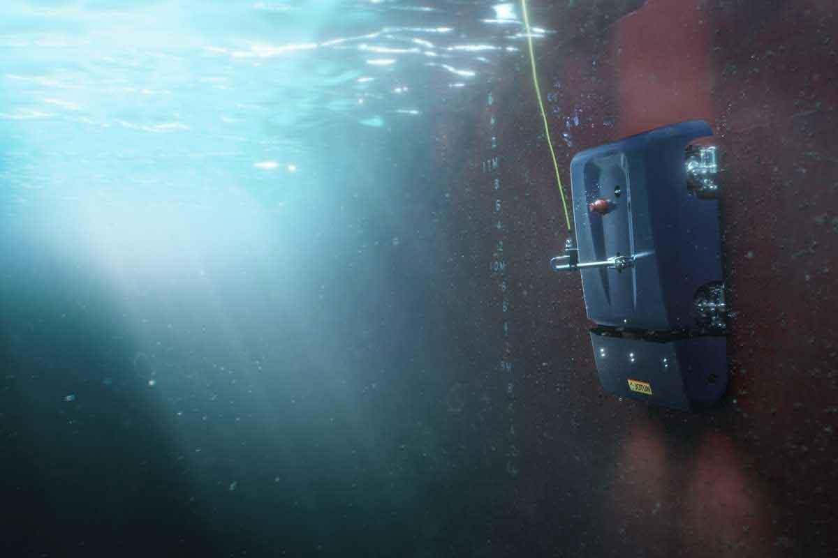 El robot que podría ayudar a descarbonizar la industria naviera