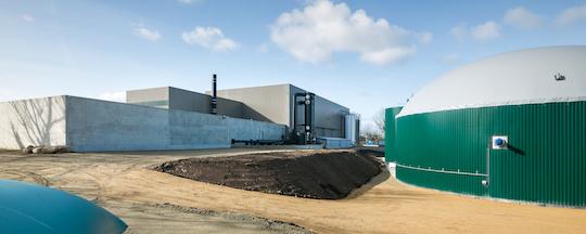 la centrale de production et d injection de biomethane de quimper magazine et portail francophone des bioenergies