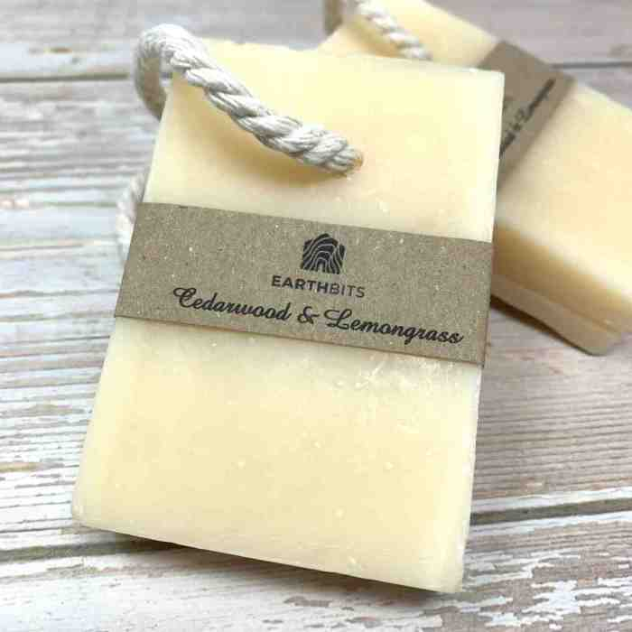 soap made with natural ingredients