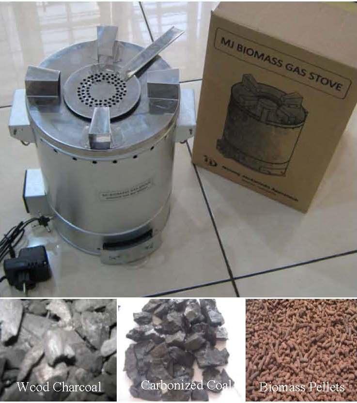 MJ Biomass Gas Stove