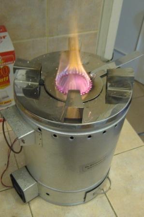 MJA Biomass Gas Stove