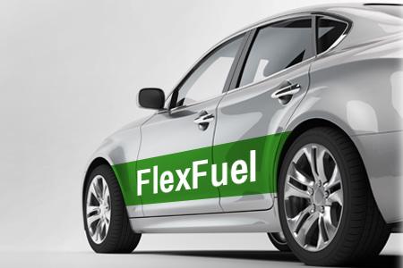 Véhicule Flexfuel