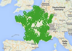 Liste des stations E85 en France