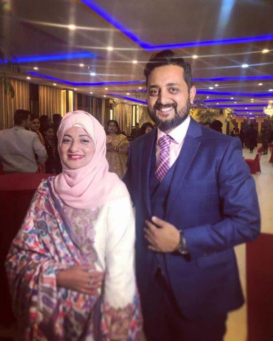 Asif Shah with Nashira Shah