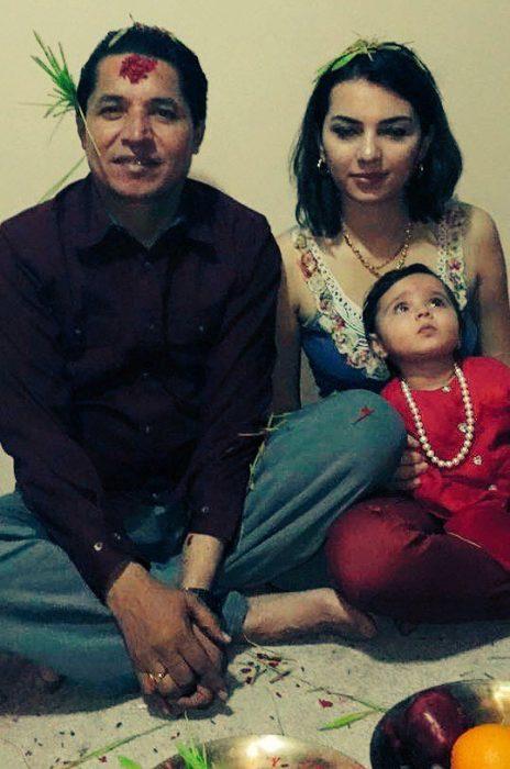 rishi-dhamala-aliza-dhamala-and-daughter-dashain