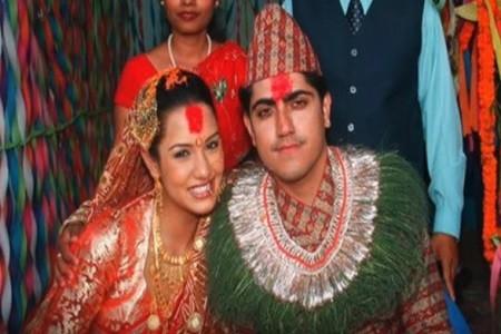 Priyanka Karki and ex- Husband Rochak Mainali