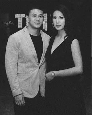 Sipora Gurung with boyfriend Udip Shrestha