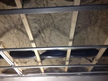 Isolation d'un plafond avec Biofib Chanvre