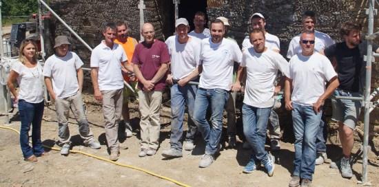 artisans macons chantier chaux chanvre biofib