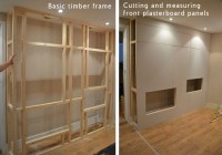 How to build a fake chimney breast with bio ethanol burner