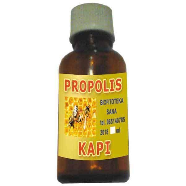 Biljne kapi od Propolisa