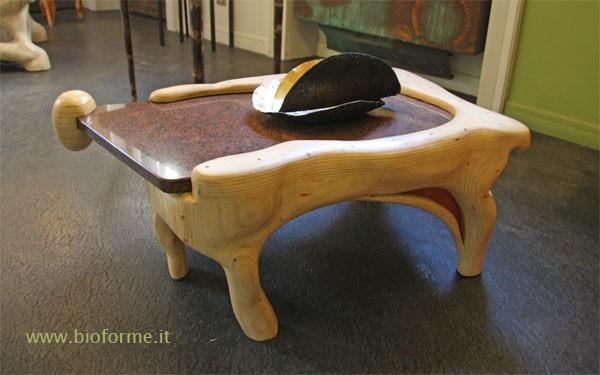 Tavolini da salotto in legno  Sfera di Bioforme  da toccare