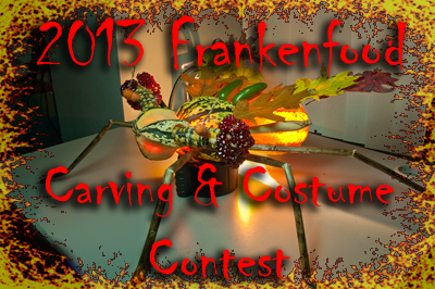 2013 Frankenfood Carving Contest