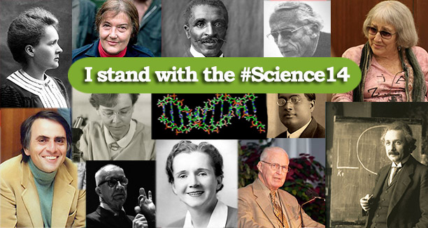 Stand with the #Science14