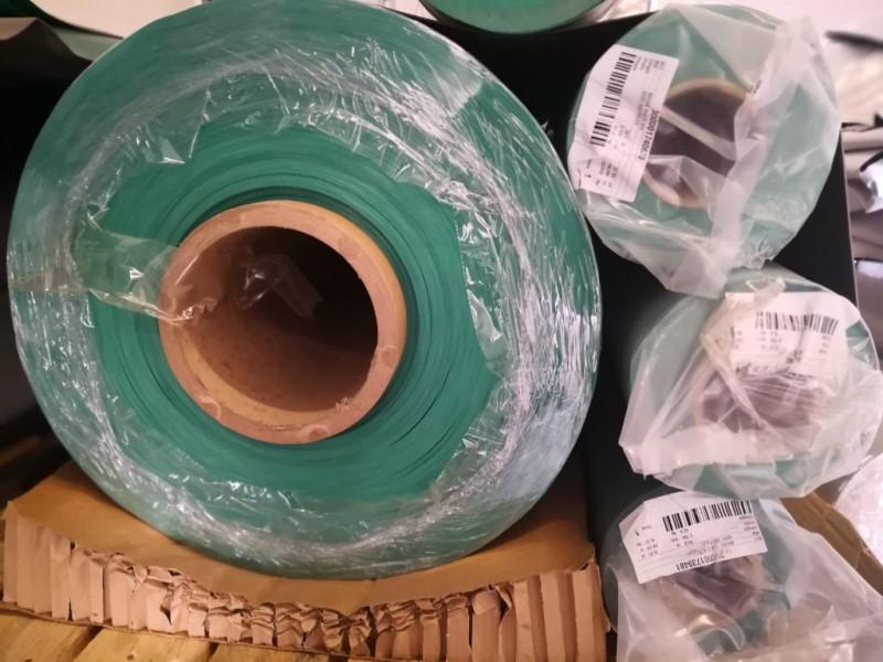Zdjęcie folii PVC w rolce