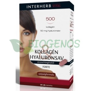 Colagen Si Acid Hialuronic Forte 30cpr INTERHERB