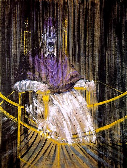Inocencio X según Francis Bacon.
