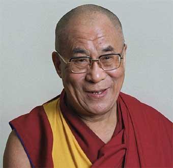 Fotograf�a actual del Dalai Lama