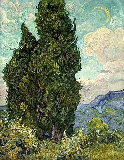 Cipreses (1889)