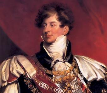 Resultado de imagen para Fotos de Jorge IV del Reino Unido es coronado rey
