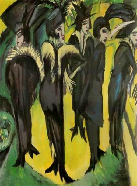 Expresionismo alemán: Kirchner