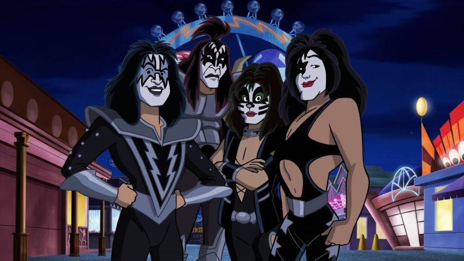 South Park Heavy Metal Girl Wallpaper Kiss Gets Animated With Scooby Doo In Rock And Roll