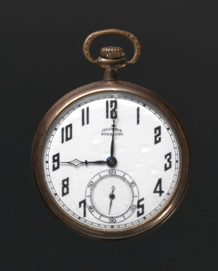 Harry T Moore Pocket Watch Photo