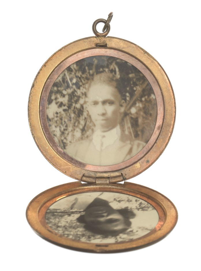 Harry T Moore Locket Photo
