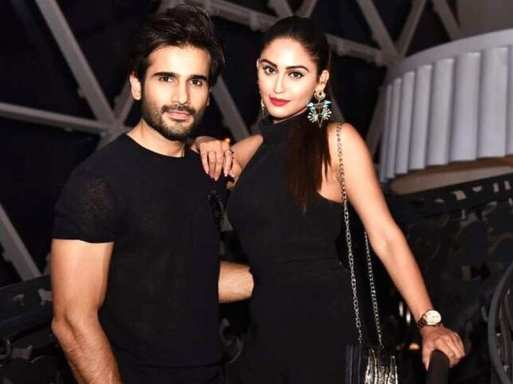 Krystle D'Souza  and Karan