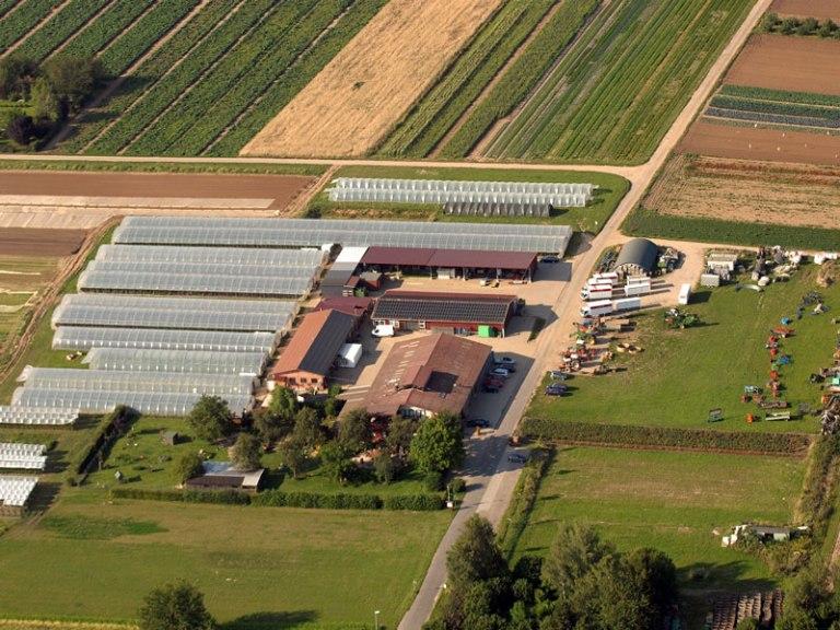 Luftbild Biohof Bursch