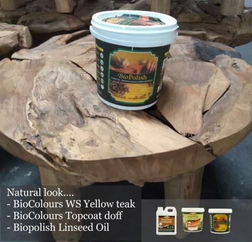 finishing kayu natural dengan biopolish